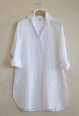 Flats Swiss Shirt Linen - SS17 White