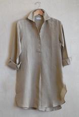 Flats Swiss Shirt Linen - SS17 Toast