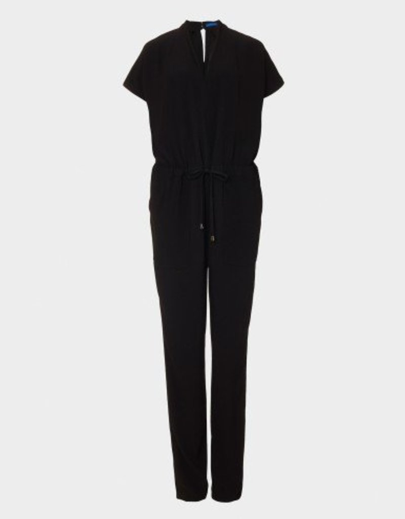Winser London Satin Back Crepe Jumpsuit