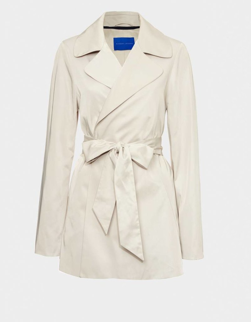 Winser London WL- A Line Short Trench Coat