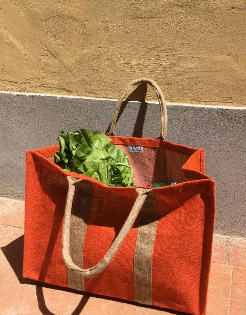 Flats Market Bag Blue