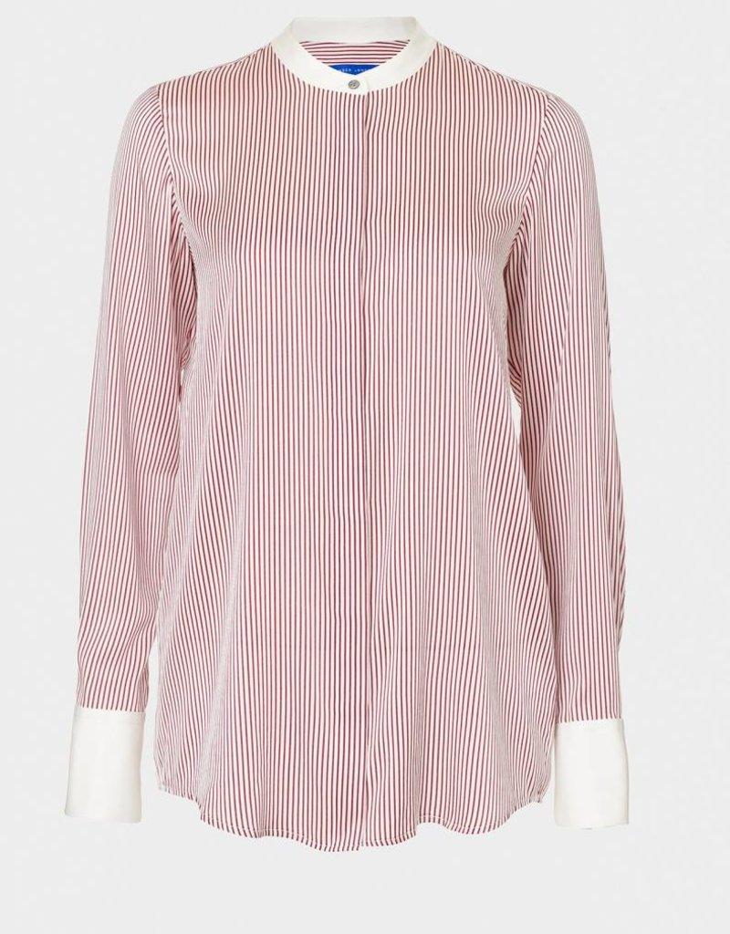 Winser London WL- Lightweight Silk Striped Shirt