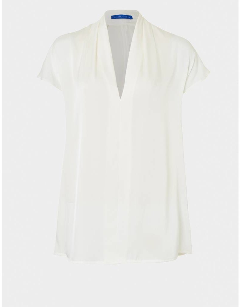 Winser London WL-V Neck Silk Top