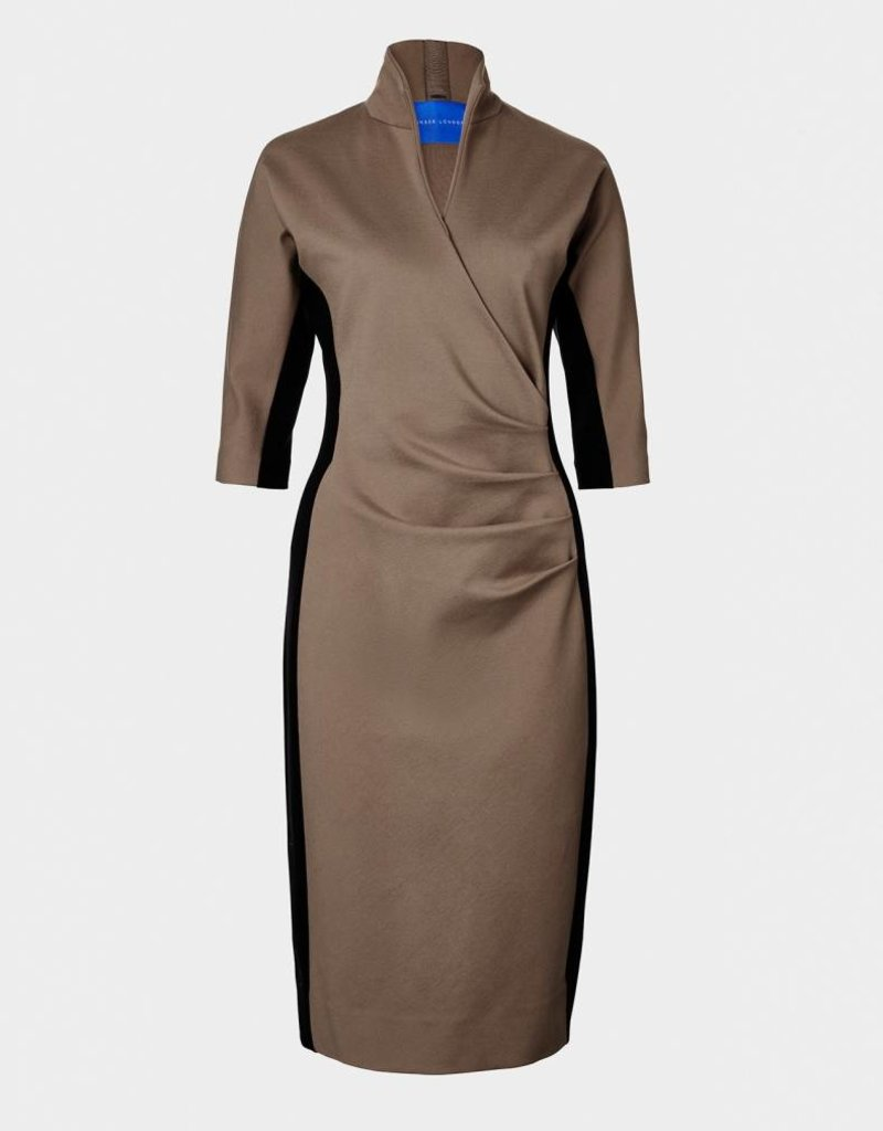 Winser London WL-Grace Miracle Color Block Dress