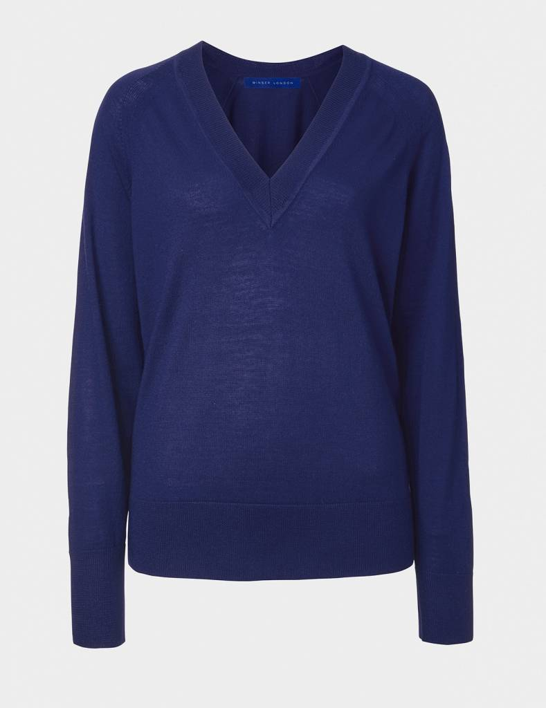 Winser London WL- Merino V Neck Jumper