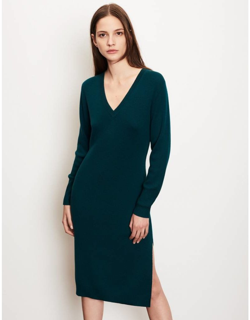 Winser London WL-Merino Wool V Neck Dress