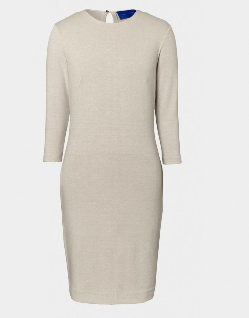 Winser London WL-Crepe Jersey Fitted Dress