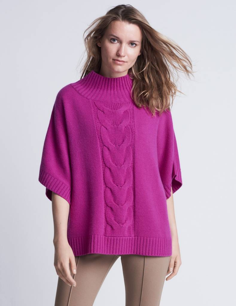 Winser London WL-Audrey Cashmere Cable Jumper