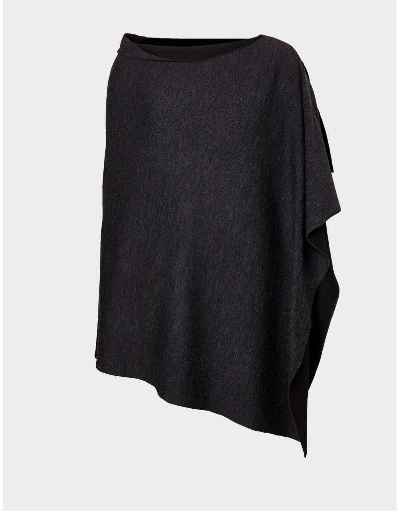 Winser London WL- Reversible Merino Wool Poncho