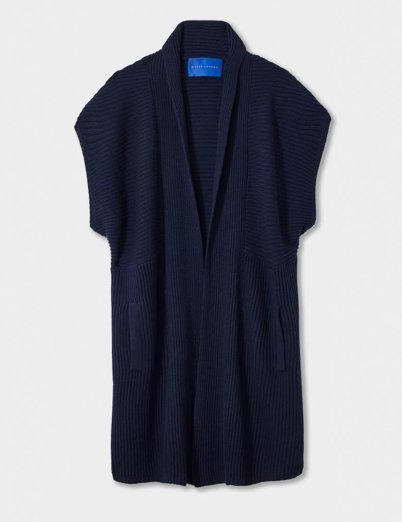 Winser London WL- Merino Wool Sleeveless Coat