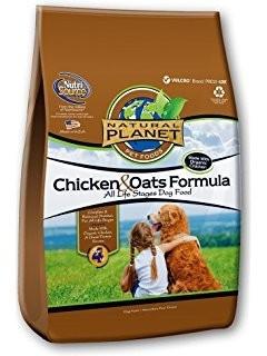 Natural Planet Chicken Oats Formula Dry Dog Food