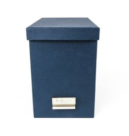 Bigso Boxes File Box Blue