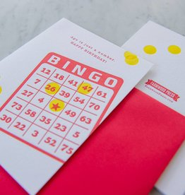 Farmwood Press Birthday Bingo
