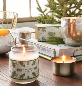 Illume Demi Radiant Metal Candle, B&C