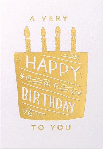 Calypso Cards Happy Birthday Card Typo Market