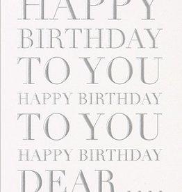 Calypso Cards Happy Birthday to You