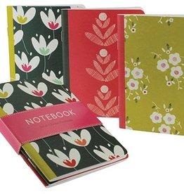Calypso Cards Tulip Garden Mini Journals, Set/3