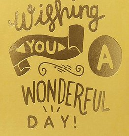 Calypso Cards Wishing You A Wonderful Day Card