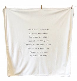 SugarBoo Designs Baby Blanket - You are my Sunshine