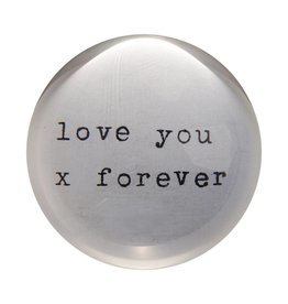 SugarBoo Designs Love You X Paper Weight