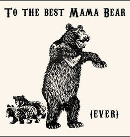 SugarBoo Designs To The Best Mama Bear Notecard