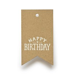 Sugar Paper Kraft Birthday