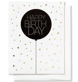 Betsy White Balloon Happy Birthday