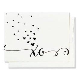 Betsy White XO Card