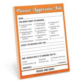 Knock Knock Nifty Notes: Passive Aggressive