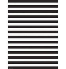 Waste Not Paper Black & White Stripes Half Sheet