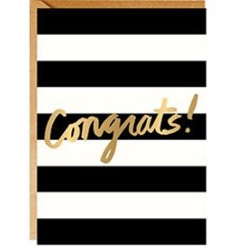 Waste Not Paper CONGRATS STRIPES