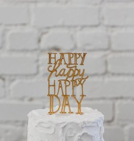 Belle and Union Happy Day Cake Topper