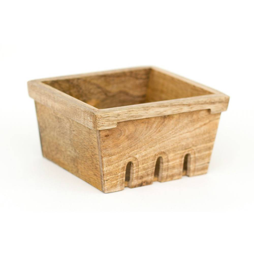 1Canoe2 Berry Basket Recipe Box w/ Green Bowls