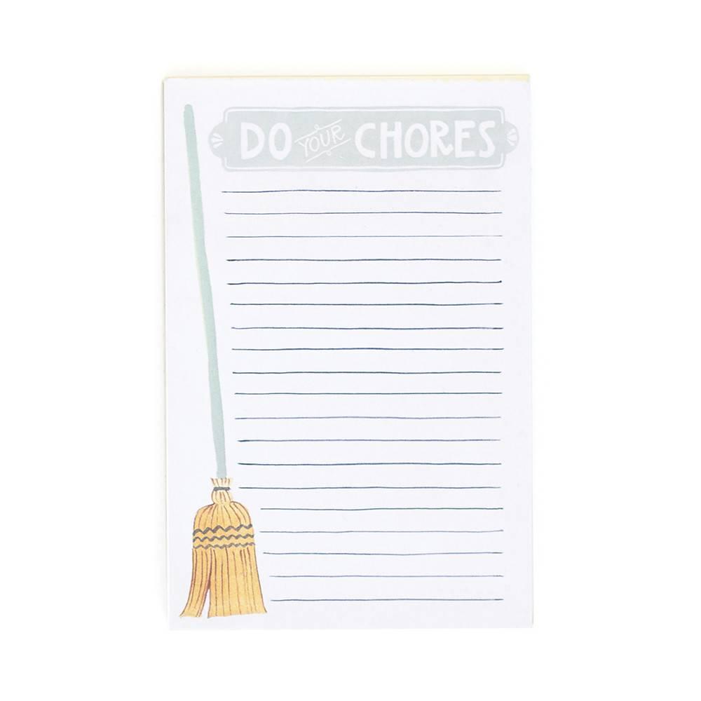 1Canoe2 Do Your Chores Notepad