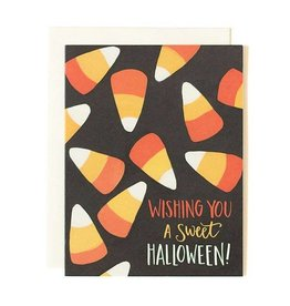1Canoe2 Halloween Candy Corn Card