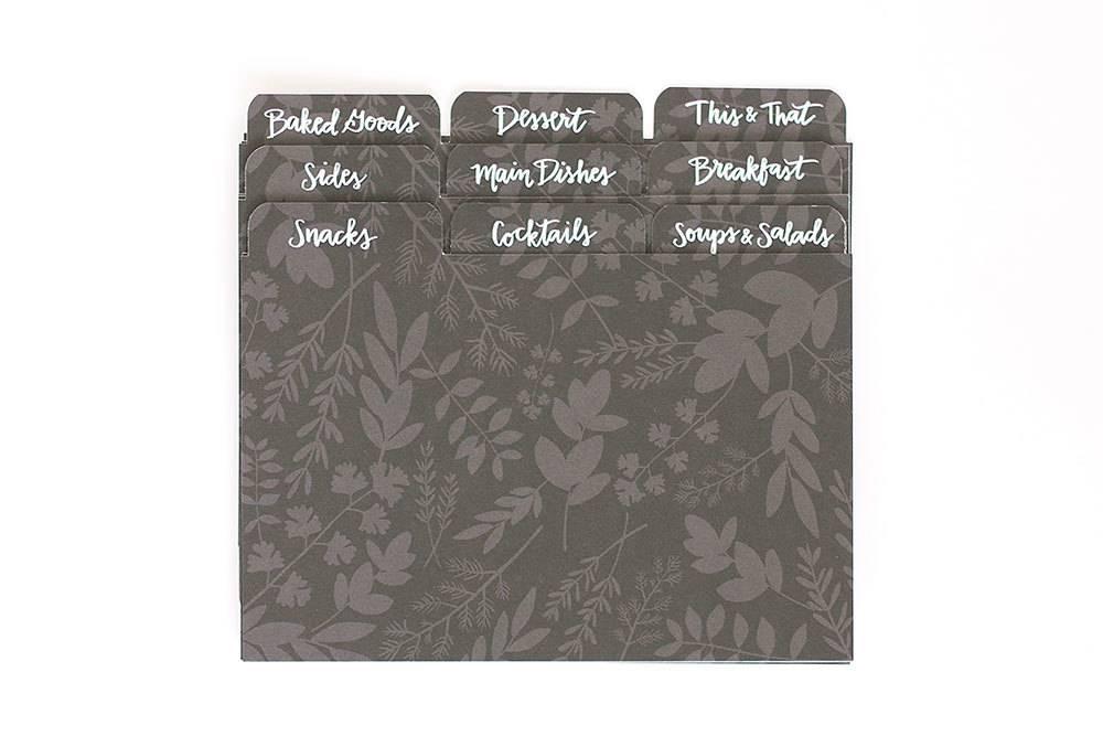 1Canoe2 Herb Recipe Divider Tabs