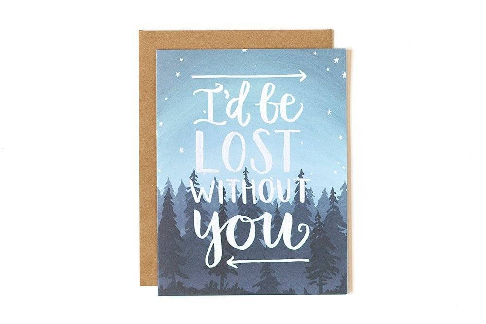 1Canoe2 Lost Without You Card