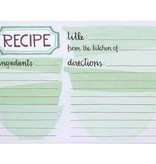 1Canoe2 Mixing Bowls Recipe Cards