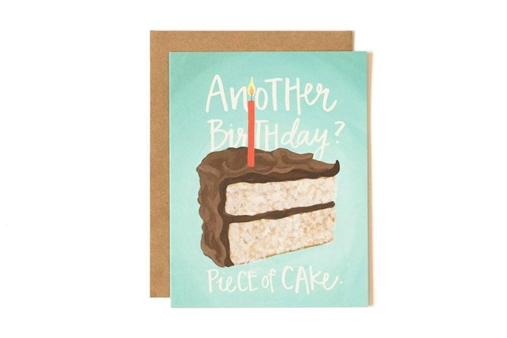 1Canoe2 Piece of Cake Card