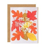 1Canoe2 Thankful For You Card