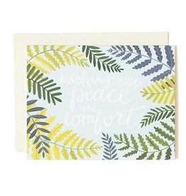 1Canoe2 Wishing You Peace and Comfort Card