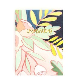 1Canoe2 Floral Foil Journal