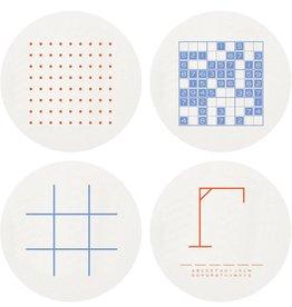 Haute Papier Coasters: Games