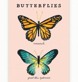 Idlewild Co. Butterfly Postcards