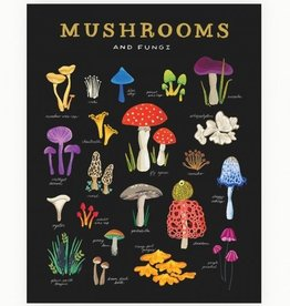 Idlewild Co. Mushroom + Fungi 11 x 14