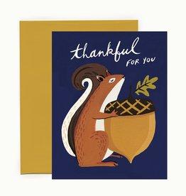 Idlewild Co. Thankful Squirrel Card