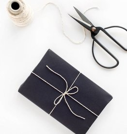 Knot and Bow Black Chalkboard Wrap