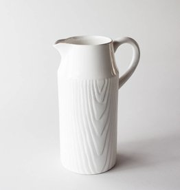 One Hundred 80 Degrees Woodgrain Pitcher