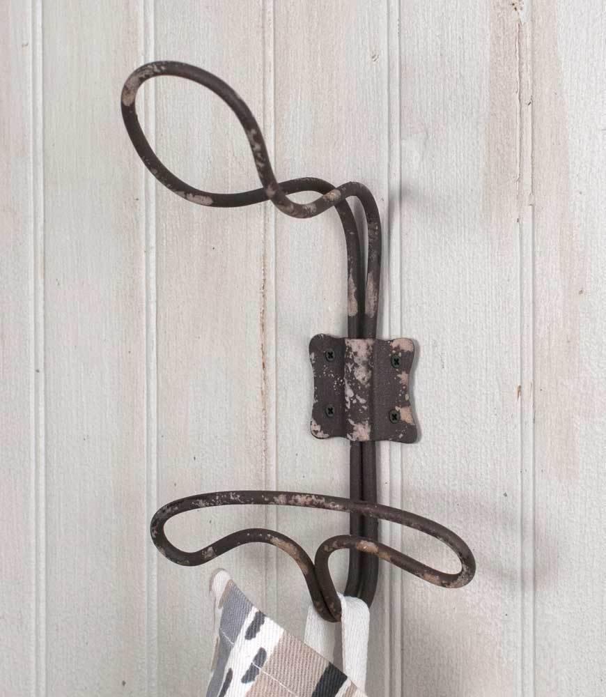 CTW Home Wire Locker Room Wall Hook - Typo Market