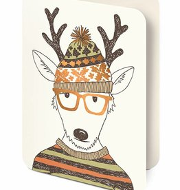 Studio Oh! Hipster Reindeer Note Cards